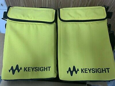 Lot Of 2 Keysight 34141A Yellow Soft Carry/Operating Cases. 34141-60001