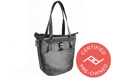 Peak Design Everyday Tote Bag (Charcoal) Lifetime Warranty - PD Certified