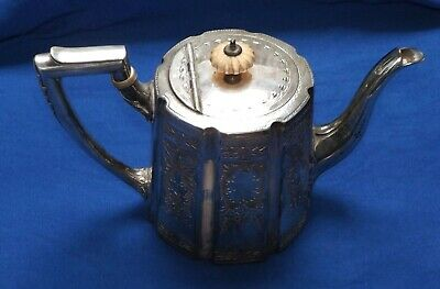 Antique Silver Plated Teapot