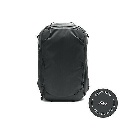 Peak Design Travel Backpack 45L Black (Lifetime Warranty) - PD Certified