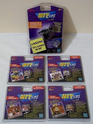 Lotto lettore vintage Micro Personal Player HIT CLIPS + 6 Micro Clips