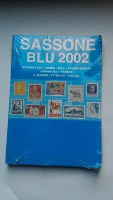 Sassone Catalogo Blu 2002 nuovo con cellophane