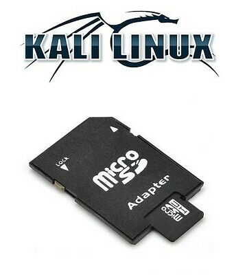 PRELOADED KALI LINUX 2019 1 for Raspberry PI 2 and 3 on 32GB Class Micro SD  Card