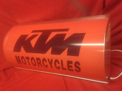 KTM,lightup,sign,illuminated,classic,display,mancave,garage,shed,motorcycle,bar