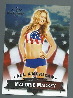 Benchwarmer Chase Card All American Card 13 Malorie Mackey 2013 Good+ Condition