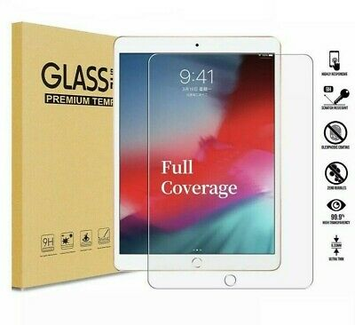 "100% Genuine LCD Tempered Glass Screen Protector For Apple Ipad 9.7"" 2018"