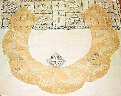 Antique 1930's Handmade Lace Collar
