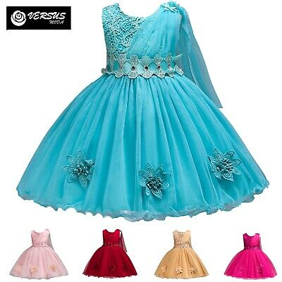 Vestito Damigella Cerimonia Abito Bambina Girl Party Bridesmaid Dress CDR088