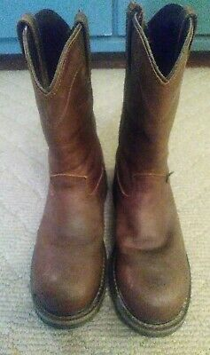 4f561dbc324 RED WING MENS 2272 PULL-ON Steel Toe BOOT SIZE 10 EE. ONLY WORN To ...