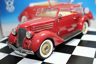 Franklin Mint 1:24 Scale 2003 Special Event 1936 FORD CABRIOLET (RED)