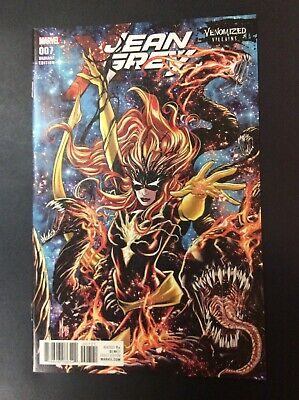 Jean Grey #7 Venomized Phoenix Force Variant Cover Comic Book Lot Marvel Girl X