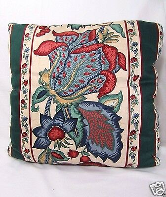 Waverly Town Hall Greenfield Jacobean Floral 16-inch Square Toss Pillow(s)