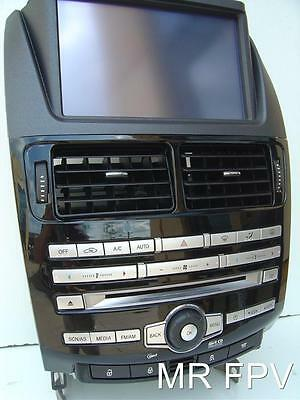 FG FORD 6 stack CD radio ICC single climate fits FPV XR6 XR8