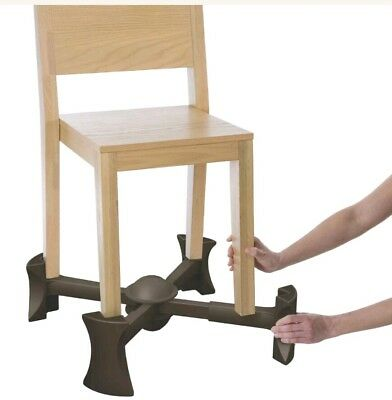 KABOOST Portable Chair Booster - Brown Chocolate