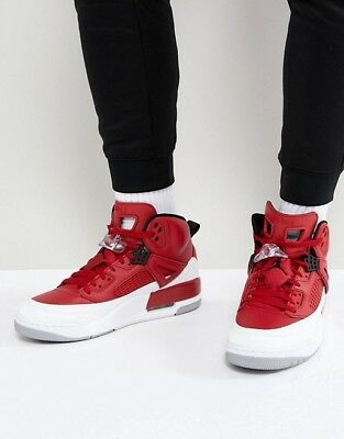 new style 7d568 ea213 Nike Air Jordan Spizike Gym Red Black White Uk Size 7.5 Eur 42 315371-603