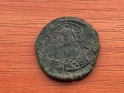 Alexius I Comnenus 1081-1118 AD AE Class J Anonymous Follis Constantinople mint.