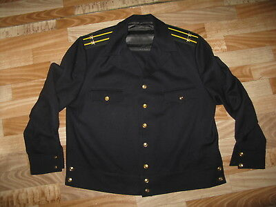 Jacket dark blue half-woolen for officers in the Navy of the USSR