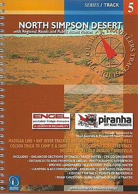 North Simpson Desert Track Guide *FREE SHIPPING - NEW*