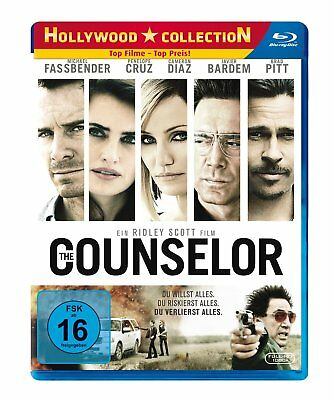 The Counselor | 2013 | Extended Cut + Kinofassung | Brad Pitt | Blu-ray