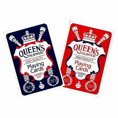 New Queen's Slipper Playing Cards Casino slip High Quality AU Made