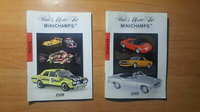 Catalogue Catalogo Minichamps 2008 / 2009  1:18 / 1:24