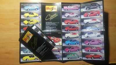 Catalogue Catalogo Maisto / Road Signature  1:18 / 1:24