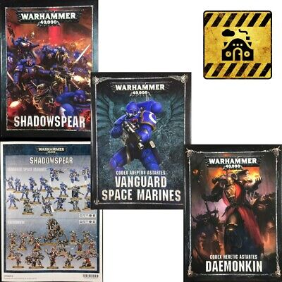 *Multi-listing* Warhammer 40k Shadowspear campaign codex assembly brochure (ENG)