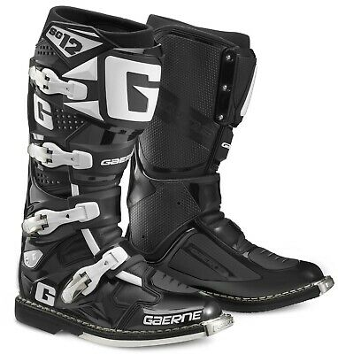 Gaerne Sg12 Mx Boots Black, Sg12 Black, Motocross, Enduro, Trail & Offroad Boots
