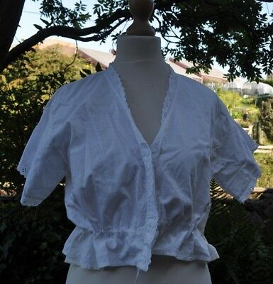 Authentic Antique Underwear Chemise Whitework Camisole