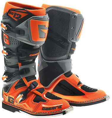 Gaerne Sg12 Mx Boots Orange, Motocross, Enduro, Trail & Off Road Boots