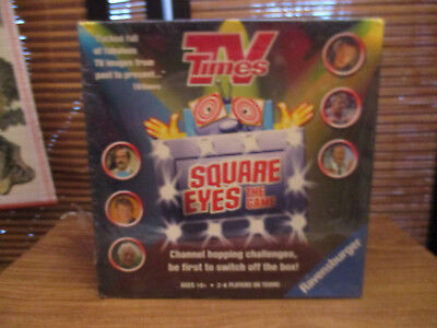 TV Times Square Eyes Board Game TV Trivia Quiz (NEW)