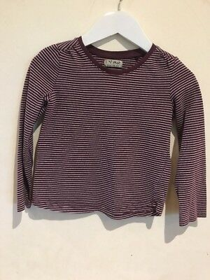Next Lovely Girls Striped Top Age 3-4yrs