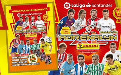 ADRENALYN XL 2018 2019 Balon de oro, Card Invencible, Campeon card