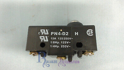 Saia-Burgess PN4D2 Plunger Microswitch