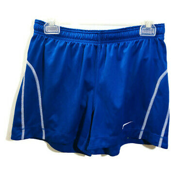 Activewear The Best Nike Dri Fit Athletic Shorts Navy Blue Swoosh Medium Mesh Lining Elastic Waist