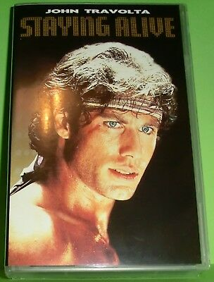 Staying Alive (VHS Kassette) John Travolta