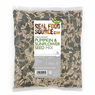RealFoodSource - Organic Pumpkin and Sunflower Seed Mix 1kg