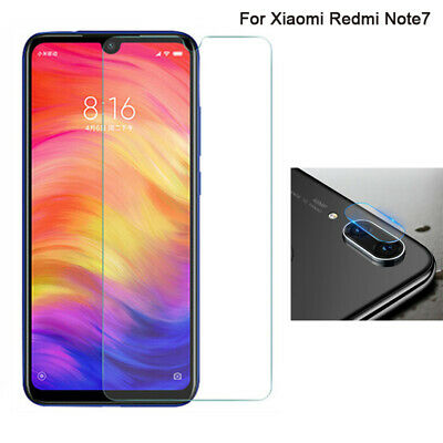 For Xiaomi Redmi Note 7 Camera Lens Tempered Glass / Screen Protector Film LOT