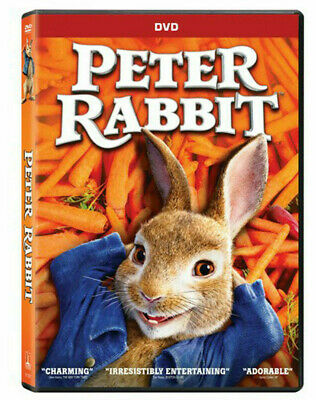 Peter Rabbit DVD New Version with Special Features UK Compatible Free Delivery
