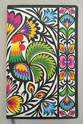 Polish Notebook- Poland Folklore Rooster Coq - New (see pictures)