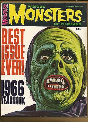 Famous Monsters of Filmland Yearbook 1966 Horror Film Magazine mag US