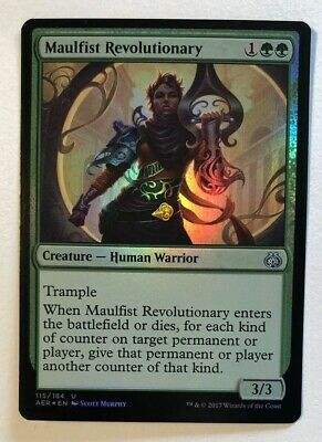 foil MTG AETHER REVOLT Pacification Array