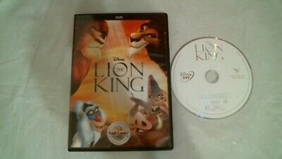 Disney's The Lion King Signature Coll. Dvd Animated Wide Near Mint