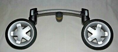 Quinny Buzz Extra Double Front Wheel Silver Free Post