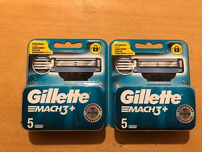 LOT 2 Pack 10 lame de rasoir Gillette MACH3+ neuf sous blister
