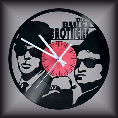 Reloj disco de vinilo LP Regalo original cumpleaños THE BLUES BROTHERS