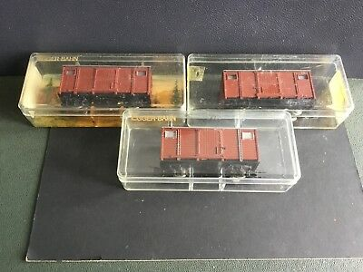 3 xEgger Bahn  Large Box Vans Boxed  Reduced To £55 one week only