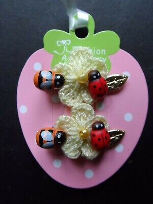 girls/baby small/mini hair clip,slides,bendies,summer,easter,flower,ladybird bee