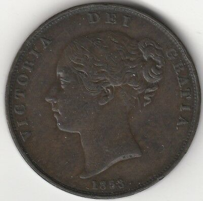 1853 Victoria Penny | British Coins | Pennies2Pounds
