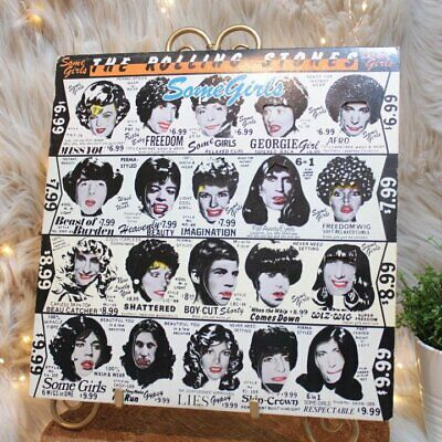The Rolling Stones Some Girls LP Vinyl Record COC 39108 Orig Banned 1978 Cover